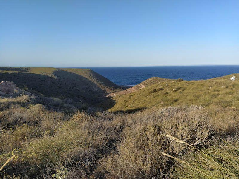 """PLAYA DE LOS MUERTOS-Maravilloso día en esta playa de """"Cabo de Gata-Níjar"""""""